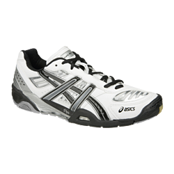 Asics Gel Blast 3 Indoor Court Shoes White and Black