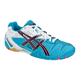 Asics Gel-Blast 5 Squash Shoes Womens Ocean Blue_Black_White
