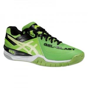Asics Gel-Blast 6 Green White Black Squash Shoes