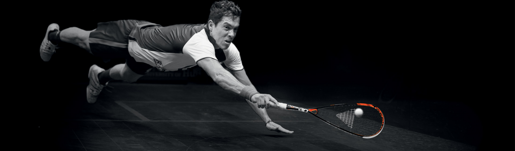 Flying Miguel Angel Rodrigues with Tecnifibre Dynergy 125 AP
