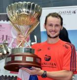 Gregory Gaultier 2011 Qatar Classic 2011 Champion