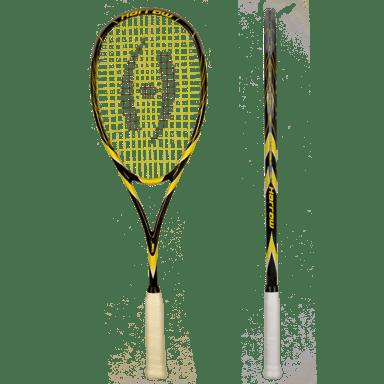 Harrow Spark Jonathon Power Signature Edition Squash Racquet Black/Gold