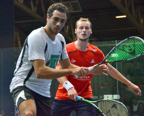 Ramy Ashour 2011 British Grand Prix Racquet