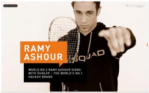 Ramy Ashour Dunlop