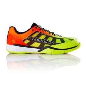 Salming Viper 4 Yellow/Orange Men's Indoor Court Shoes