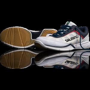 Salming Viper White Squash Shoes