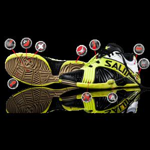 Salming X-Factor 3 Squash Shoes 2