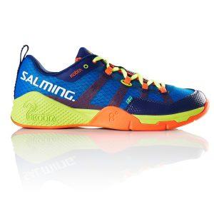 Salming Kobra Royal/Yellow Indoor Court Shoes