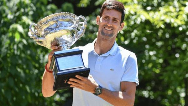 Novak Djokovic AO2020