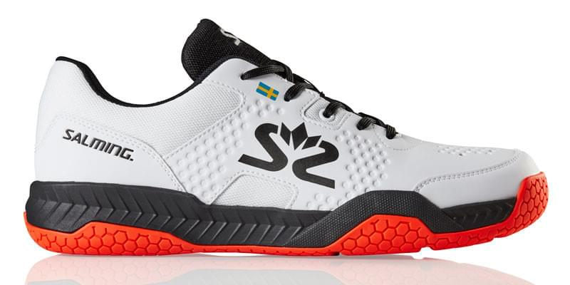 Salming-Hawk-Court-Men-White-Black-New-Flame-Red-Indoor-Court-Shoes-800x400-1